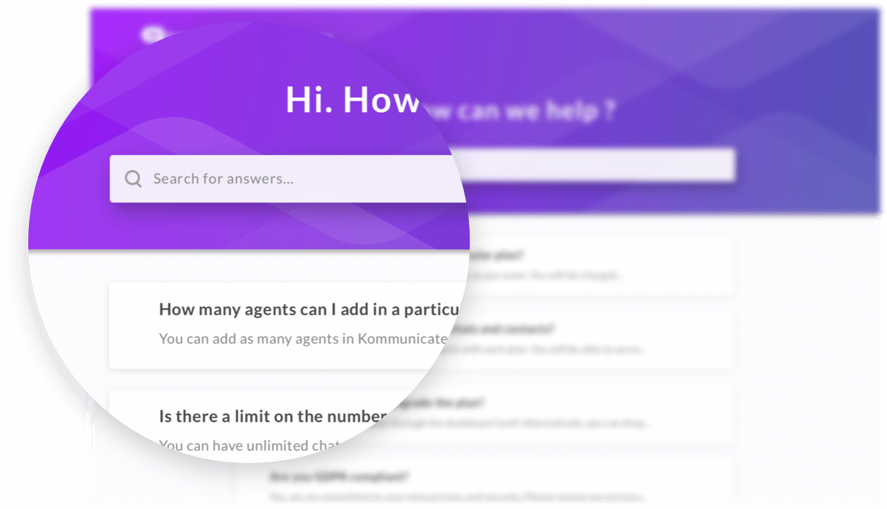 helpcenter-feature search